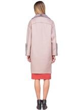 Пальто Agnona L11104 100% кашемир Грязно-розовый Италия изображение 4