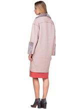 Пальто Agnona L11104 100% кашемир Грязно-розовый Италия изображение 5
