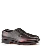 Ботинки Santoni MCC013974 100% кожа Темно-бордовый Италия изображение 0