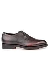 Ботинки Santoni MCC013974 100% кожа Темно-бордовый Италия изображение 1