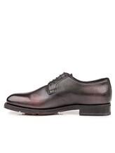 Ботинки Santoni MCC013974 100% кожа Темно-бордовый Италия изображение 2
