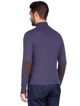 Кардиган EREDA 23192 100% кашемир Темно-фиолетовый Италия изображение 4