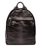 Рюкзак Santoni UIBBA1472 100% кожа Темно-серый Италия изображение 0