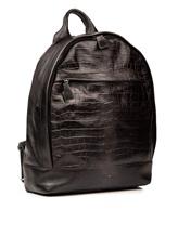 Рюкзак Santoni UIBBA1472 100% кожа Темно-серый Италия изображение 3