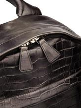 Рюкзак Santoni UIBBA1472 100% кожа Темно-серый Италия изображение 5