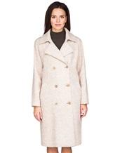 Пальто Stile Latino Napoli CDSIENA 90% альпака, 10% полиамид Бежевый Италия изображение 2