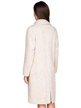 Пальто Stile Latino Napoli CDSIENA 90% альпака, 10% полиамид Бежевый Италия изображение 4