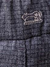 Брюки Jacob Cohen CARL WOOL 100% шерсть Серый Италия изображение 4