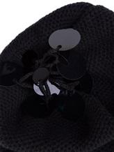 Шапка Inverni Firenze 1892 3497 80% кашемир, 16% вискоза, 4% полиэстер Черный Италия изображение 1