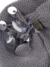 Шапка Inverni Firenze 1892 3497 80% кашемир, 16% вискоза, 4% полиэстер Серый Италия изображение 1