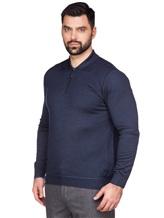 Поло Pashmere WU84481 60% шерсть, 30% шёлк, 10% кашемир Темно-синий Италия изображение 2