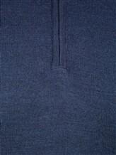 Поло Pashmere WU84481 60% шерсть, 30% шёлк, 10% кашемир Темно-синий Италия изображение 4