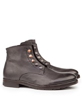 Ботинки Mauron V081 100% кожа Темно-серый Италия изображение 0