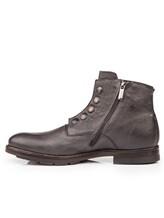 Ботинки Mauron V081 100% кожа Темно-серый Италия изображение 2