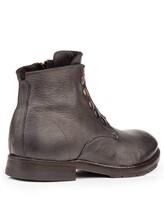 Ботинки Mauron V081 100% кожа Темно-серый Италия изображение 3