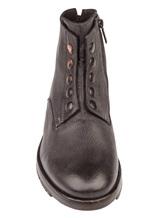 Ботинки Mauron V081 100% кожа Темно-серый Италия изображение 4