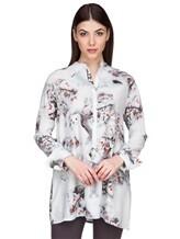 Блуза Re Vera 17182023-1 93% шелк 7% эластан Серо-голубой Китай изображение 0