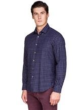 Рубашка Ingram SLSC/PRTL ML XT-5 100%хлопок Темно-синий Италия изображение 2