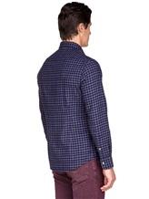 Рубашка Ingram SLSC/PRTL ML XT-5 100%хлопок Темно-синий Италия изображение 3
