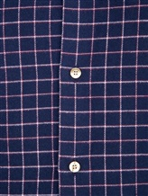 Рубашка Ingram SLSC/PRTL ML XT-5 100%хлопок Темно-синий Италия изображение 4