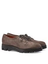 Ботинки Santoni WUUD56049 100% кожа Серо-коричневый Италия изображение 0