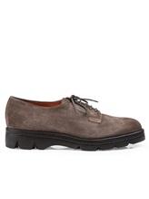 Ботинки Santoni WUUD56049 100% кожа Серо-коричневый Италия изображение 1
