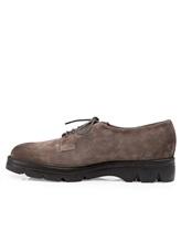 Ботинки Santoni WUUD56049 100% кожа Серо-коричневый Италия изображение 2