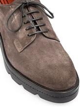 Ботинки Santoni WUUD56049 100% кожа Серо-коричневый Италия изображение 5