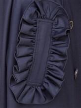 Юбка ERIKA CAVALLINI P7A211 99% шерсть, 1% эластан Темно-синий Италия изображение 4