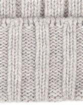 Шапка Peserico S36053F05B 70% шерсть, 20% шёлк, 10% кашемир Серый Италия изображение 2