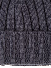 Шапка Peserico S36053F05B 70% шерсть, 20% шёлк, 10% кашемир Темно-серый Италия изображение 2