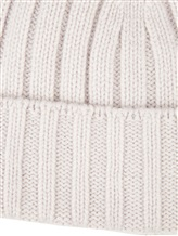 Шапка Peserico S36053F05B 70% шерсть, 20% шёлк, 10% кашемир Светло-серый Италия изображение 2