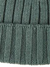 Шапка Peserico S36053F05B 70% шерсть, 20% шёлк, 10% кашемир Зеленый Италия изображение 2