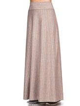 Юбка EREDA E251519 96% шерсть 4% эластан Серый Италия изображение 2