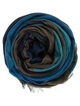 Палантин Re Vera 1718С7450SP 100% кашемир Сине-коричневый Китай изображение 0