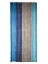 Палантин Re Vera 1718С7450SP 100% кашемир Сине-коричневый Китай изображение 2