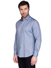 Рубашка Ingram SLSC/PRTL ML XT-5 100%хлопок Серо-голубой Италия изображение 2