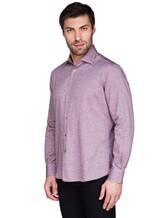 Рубашка Ingram SLSC/PRTL ML XT-5 100%хлопок Лиловый Италия изображение 2