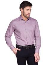 Рубашка Ingram SLSC/PRTL ML XT-5 100%хлопок Лиловый Италия изображение 0