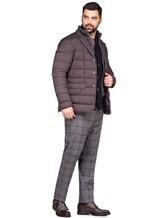 Куртка Herno PI0403U 95% полиамид, 5% полиуретан Темно-коричневый Румыния изображение 1