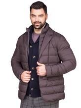 Куртка Herno PI0403U 95% полиамид, 5% полиуретан Темно-коричневый Румыния изображение 0
