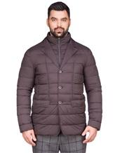 Куртка Herno PI0403U 95% полиамид, 5% полиуретан Темно-коричневый Румыния изображение 2