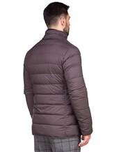 Куртка Herno PI0403U 95% полиамид, 5% полиуретан Темно-коричневый Румыния изображение 4
