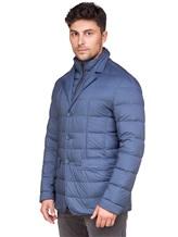 Куртка Herno PI0403U 95% полиамид, 5% полиуретан Синий Румыния изображение 2