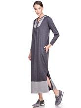 Платье EREDA E251500 100% шерсть Темно-серый Италия изображение 0