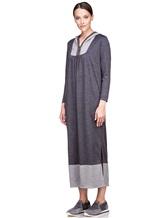 Платье EREDA E251500 100% шерсть Темно-серый Италия изображение 2