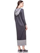 Платье EREDA E251500 100% шерсть Темно-серый Италия изображение 3