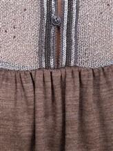 Платье EREDA E251500 100% шерсть Коричневый Италия изображение 4