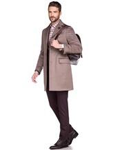 Пальто Lardini IE23109AE 100%кашемир Темно-бежевый Италия изображение 2