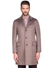 Пальто Lardini IE23109AE 100%кашемир Темно-бежевый Италия изображение 3